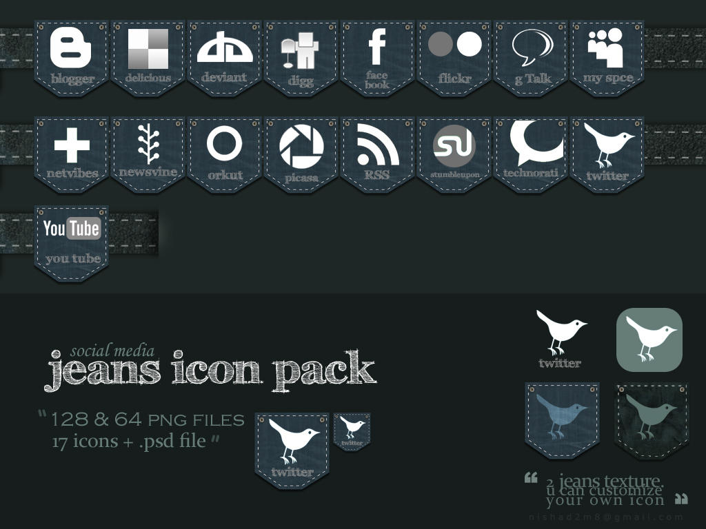 Iconos png de redes sociales (Twitter, feeds, Facebook...y más!) Jeans_social_media_icon_pack_by_nishad2m8