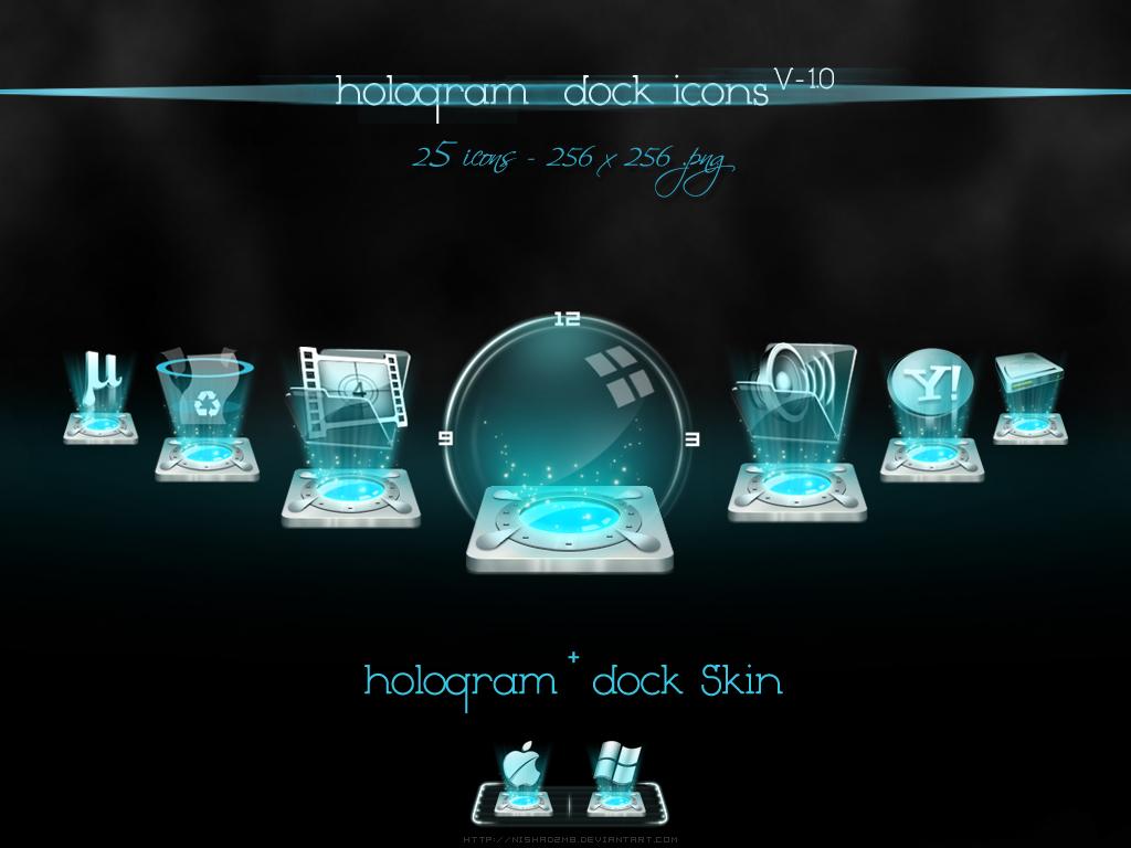 Hologram Dock icons v-1.0