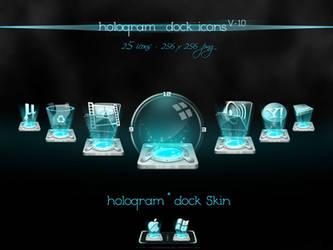 Hologram Dock icons v-1.0 by nishad2m8