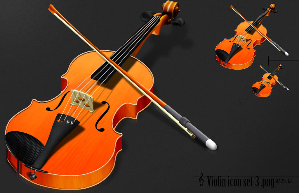 Violin icon by nishad2m8