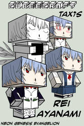 Cubee - Rei Ayanami