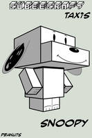 Cubee - Snoopy by TaxisFlashDude