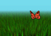 Butterfly Caught by unconed