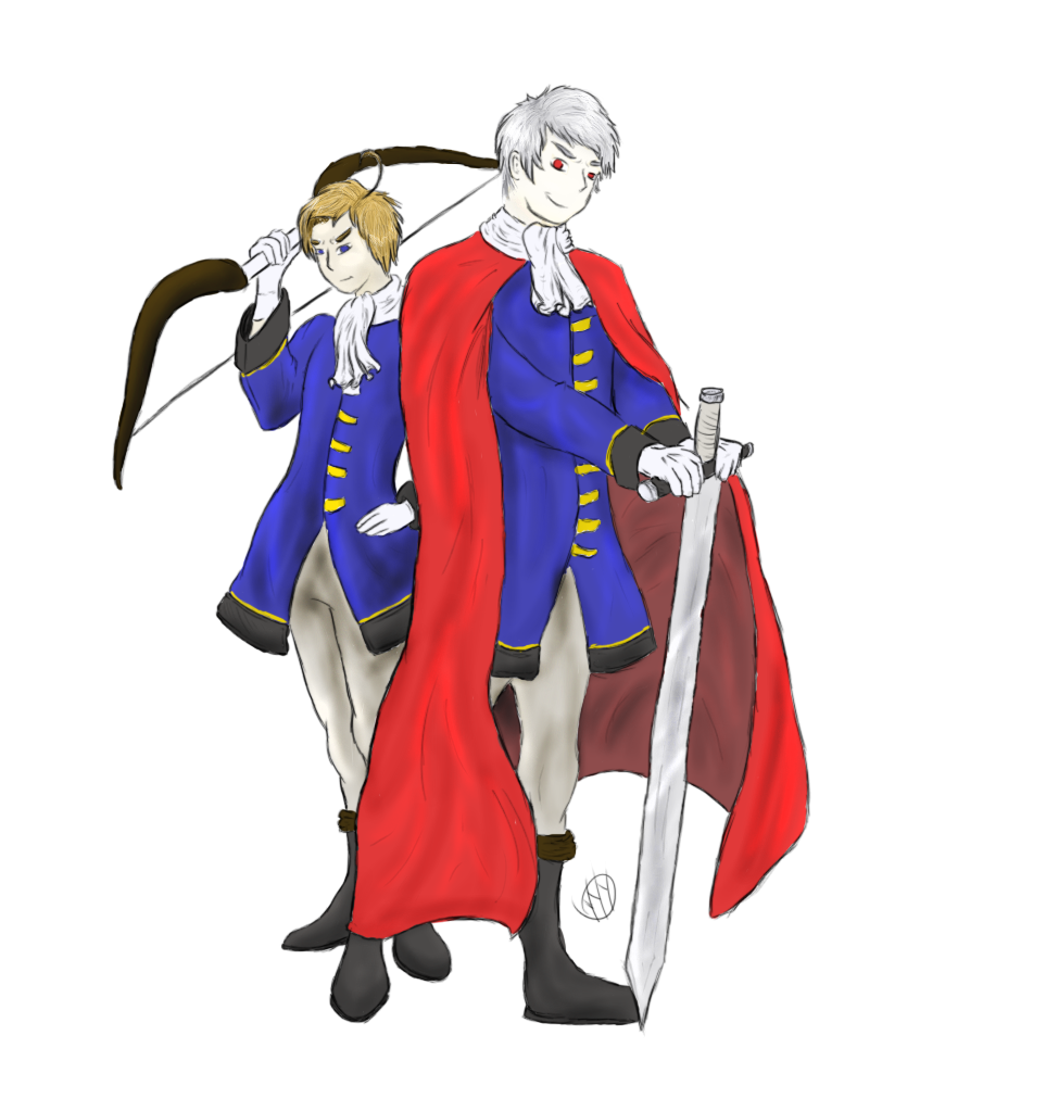 Thore T  and Gilbert B  - APH Brandenburg-Prussia by AEJ2RD