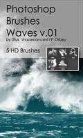 Shades Waves v.01 HD Photoshop Brushes