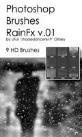 Shades Rain Fx v.01 HD Photoshop Brushes