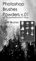 Shades Powders v.01 HD Photoshop Brushes