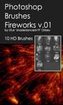 Shades FireWorks v.01 HD Photoshop Brushes