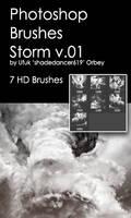 Shades Storm v.01 HD Photoshop Brushes