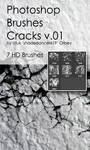 Shades Cracks v.01 HD Photoshop Brushes