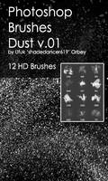 Shades Dust v.01 HD Photoshop Brushes