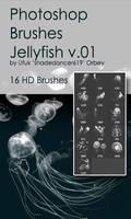 Shades Jellyfish v.01 HD Photoshop Brushes
