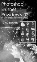 Shades Powders v.02 HD Photoshop Brushes