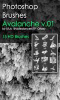 Shades Avalanche v.01 HD Photoshop Brushes by shadedancer619