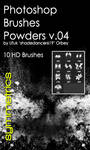 Shades Powders v.04 HD Photoshop Brushes