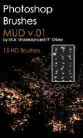 Shades Mud v.01 HD Photoshop Brushes