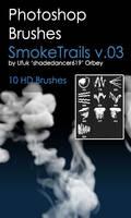 Shades SmokeTrails v.03 HD Photoshop Brushes