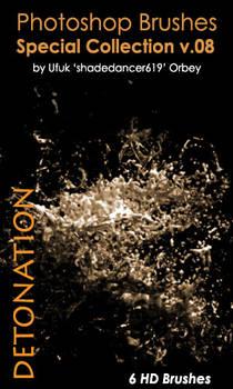 Shades Detonation HD Photoshop Brushes