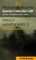 Foggy Landscapes Photoshop Brushes