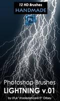Photoshop Lightning Brushes