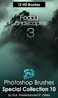 Foggy Landscapes 3 Photoshop Brushes