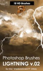 Photoshop Lightning Brushes 2 by shadedancer619