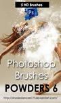 Shades Powders 6 HD Photoshop Brushes by shadedancer619