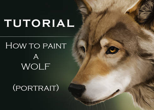 Tutorial: How To Paint A Wolf by cerona