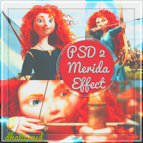 +PSD - Brave/Merida by Dhaliixa1D