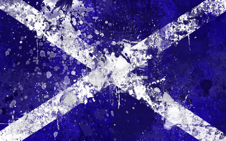 Scottish Flag Wallpaper Pack by GaryckArntzen