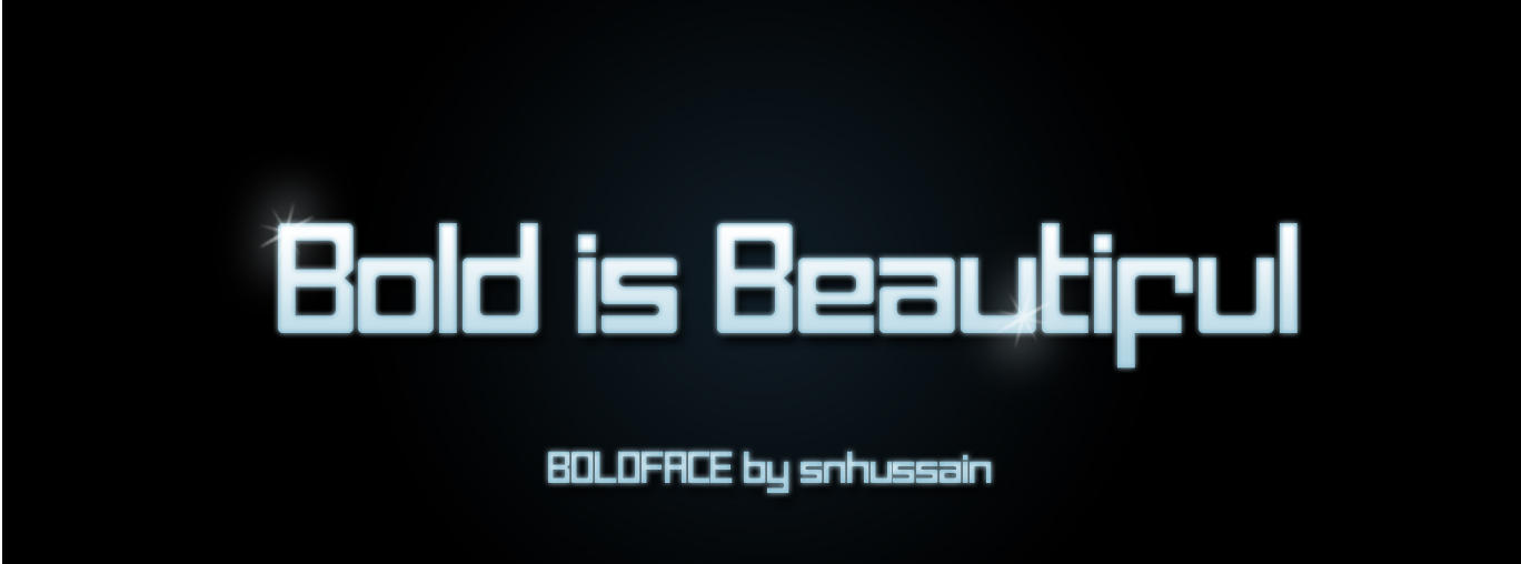 sn Boldface by Snhussain