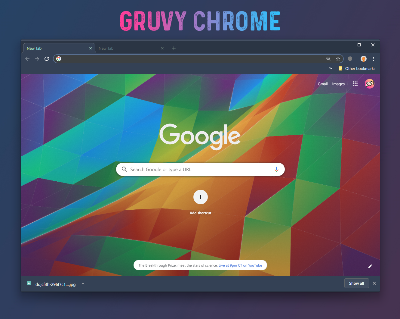 Gruvy Chrome Theme v1.1