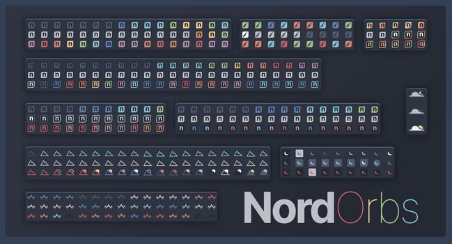 Nord Theme Start Orbs