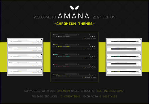 AMANA 2021 - Themes for Chromium Based Browsers