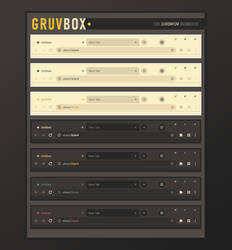Gruvbox for Chromium browsers