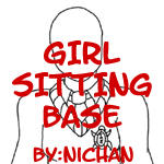 Girl Sitting Base - ni by TMNT-U