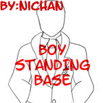Boy Standing Base - ni by TMNT-U