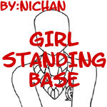 Girl Standing Base - ni by TMNT-U