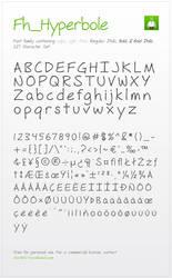 Fh_Hyperbole Font by smashmethod