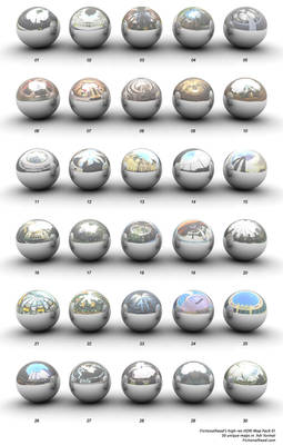 High-Res HDRI Map Pack 1