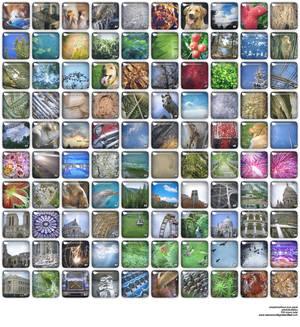 100 Photobubble XP Icons