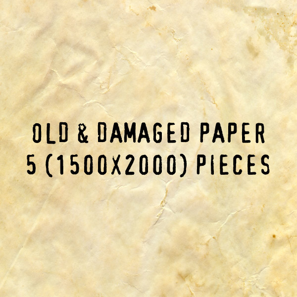 Custom Made Old Paper Pack