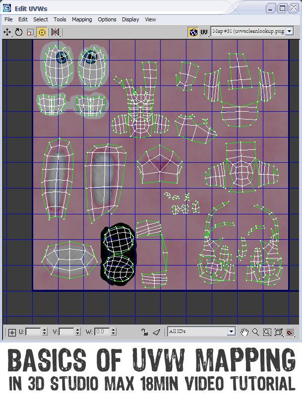 Basics Of UVW Mapping by smashmethod
