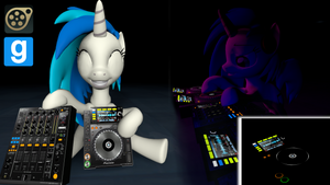 DJ Player and Mixer Model v1.5 (SFM/GMod)