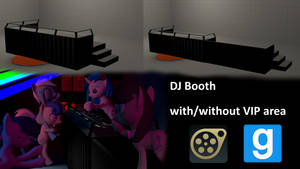 DJ Booth (Pony Sized)