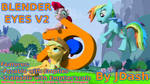 Joinable Blender Eyes for SFM Ponies [DL](Blender) by JDash42