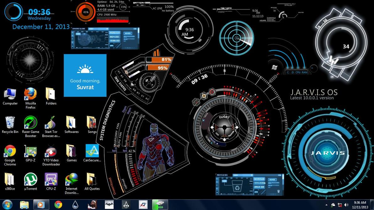 Ironman Jarvis Ultimate 1.0 by suvrat29