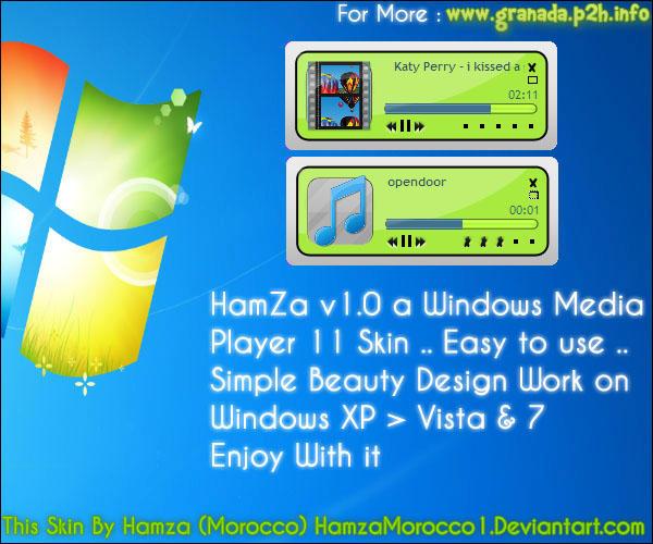 ��� ����  HamZa Windows Media Player Skin v1.0