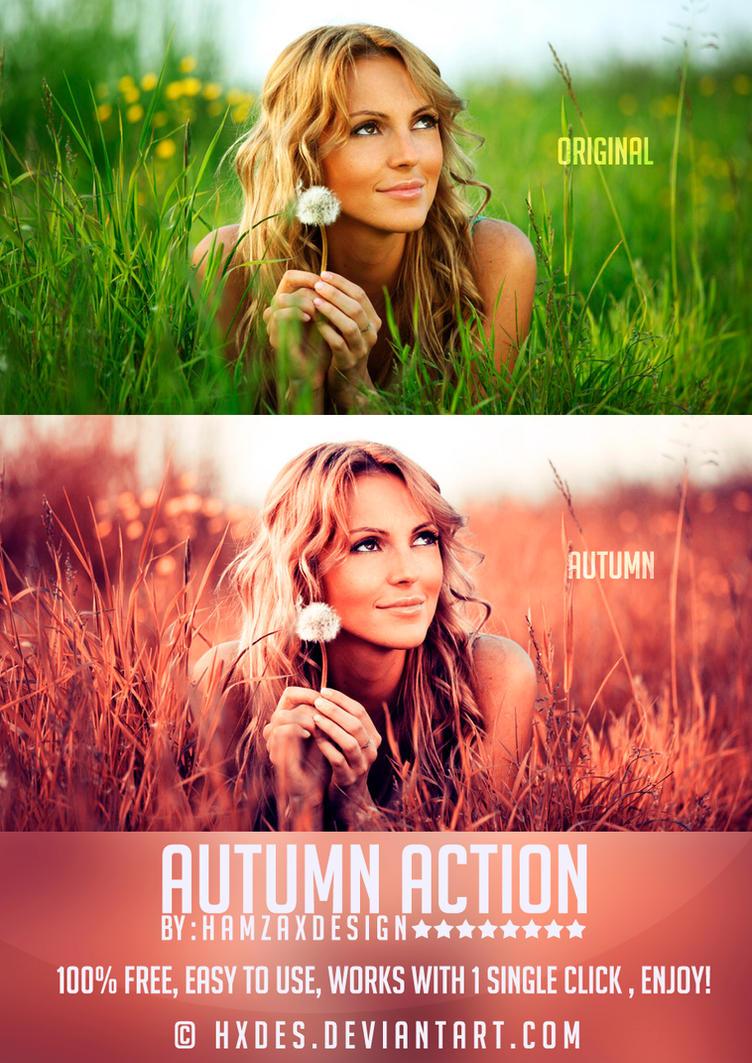 Autumn Action by lechham