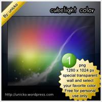 Cubelight color